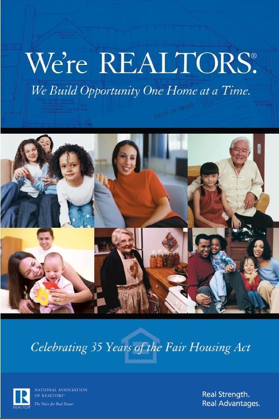 35th Anniversary of the Fair Housing Act Poster