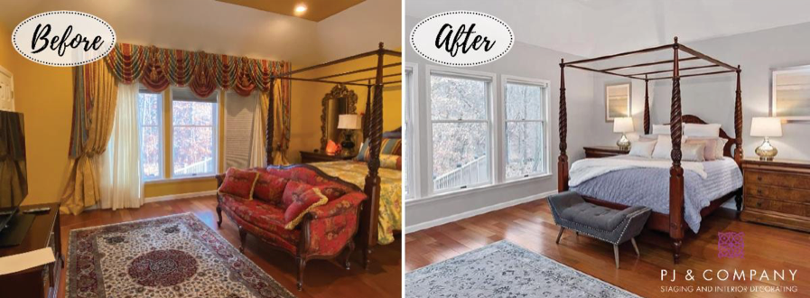 Before/After Bedroom