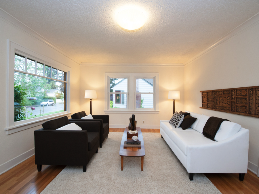 Staging Tips For Small Rooms, Small Living Room Staging Ideas