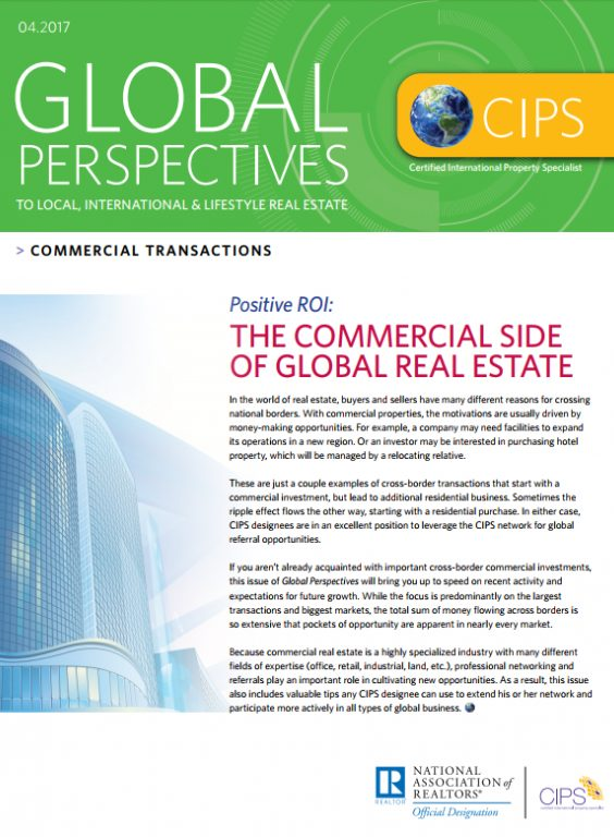 Cover of April 2017 Global Perspectives