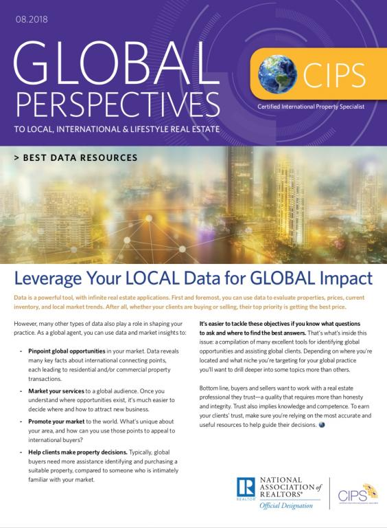 Global Perspectives Cover - Best Data Resources