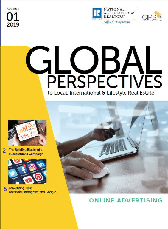 Cover of the Volume 01 2019 issue of Global Perspectives: Online Advertising