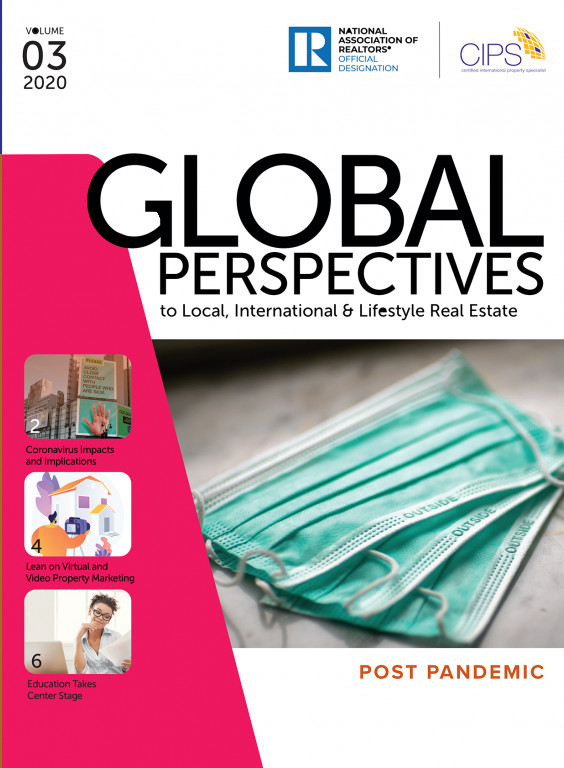 Cover of the 2020 V3 Issue of Global Perspectives: Post Pandemic