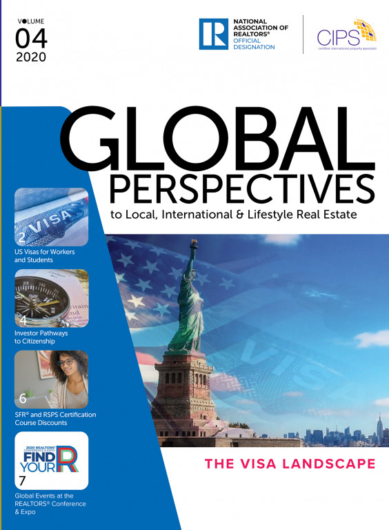 Cover of the 2020 V3 Issue of Global Perspectives: The Visa Landscape