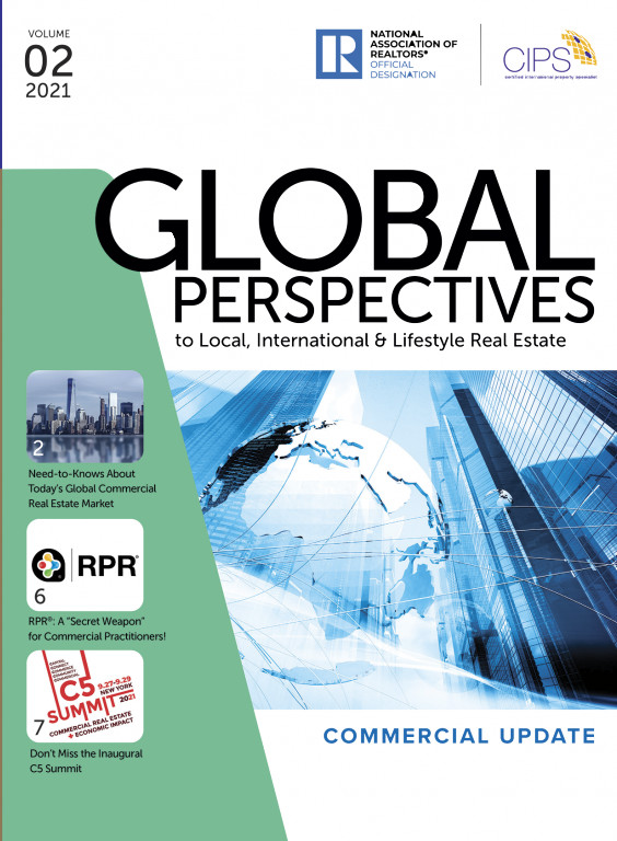 Cover of the 2021 Volume 02 issue of Global Perspectives: Commercial Update