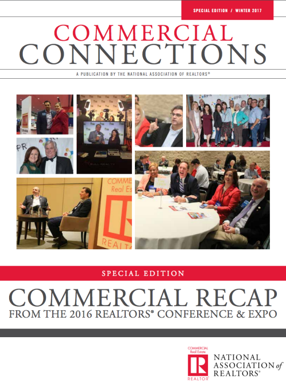 Cover of the 2017 Winter special edition issue of Commercial Connections: Commercial Recap