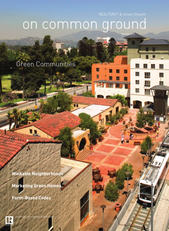 Cover of the 2010 Winter issue of On Common Ground: Green Communities