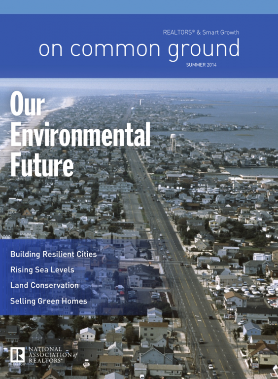 Cover of the 2014 Summer issue of On Common Ground: Our Environmental Future