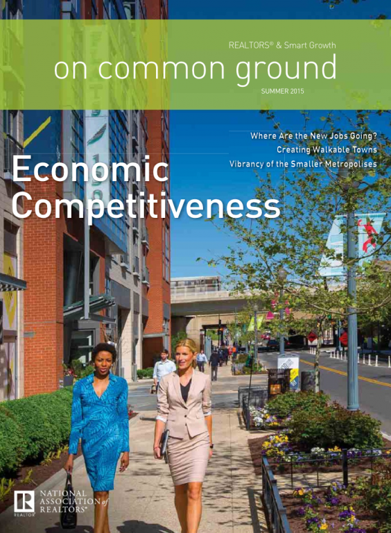 Cover of the 2015 Summer issue of On Common Ground: Economic Competitiveness