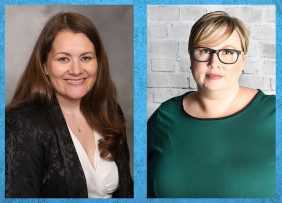NAR General Counsel Katie Johnson and NAR Vice President of Demographics and Behavioral Insights Dr. Jessica Lautz