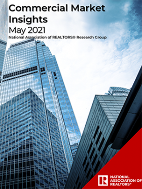 Cover of the May 2021 Commercial Market Insights report