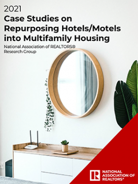 Cover of the Case Studies on Repurposing Vacant Hotels/Motels into Multifamily Housing report