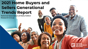 Cover of the Home Buyers and Sellers Generational Trends report