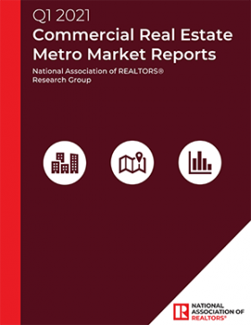 Cover of the Commercial Real Estate Metro Market reports